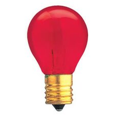Specialty 10W Transparent Red String Replacement Light Bulb (Set of 25)