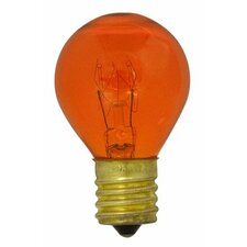 Specialty 10W Transparent Orange String Replacement Light Bulb (Set of 25)
