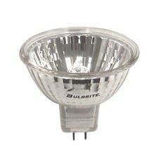 35W Clear Halogen MR16 Bi-Pin Bulb in Bright White (Set of 7)