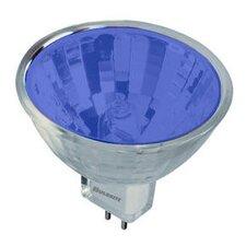 Bi-Pin Blue 12-Volt Halogen Light Bulb (Set of 5)
