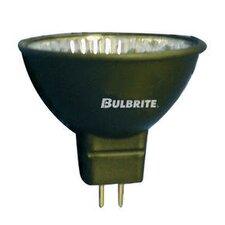 Bi-Pin 50W Black 12-Volt Halogen Light Bulb (Set of 4)