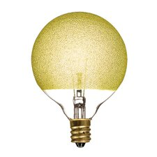 Crystal 40W Yellow Incandescent Light Bulb (Set of 4)