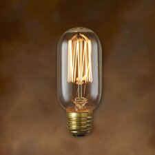 Nostalgic 40W Incandescent Light Bulb (Set of 4)