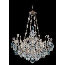 Renaissance 8 Light Crystal Chandelier