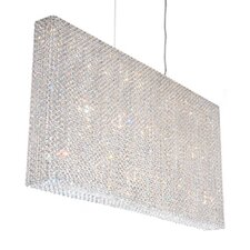 Refrax Strip 23 Light Crystal Pendant