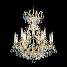 Renaissance 13 Light Crystal Chandelier