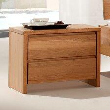 Nachttisch Starwood mit 2 Schubladen
