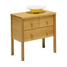 Nachttisch Willi mit 3 Schubladen