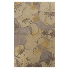 Destinations Biscotti Floral Area Rug