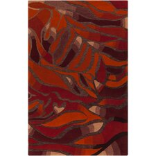 Destinations Wine/Poppy Area Rug