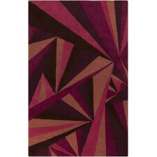 Destinations Rugaspberry Sorbet/Wine Area Rug