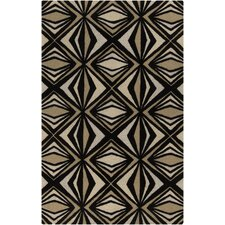 Destinations Caviar & Khaki Area Rug