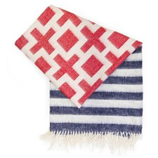 Nixon Stripe Baby Alpaca Wool Throw