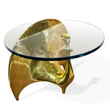 Brass Peacock Coffee Table