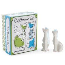 Cats Christmas Ornament