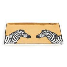 Zebra Animalia Tray