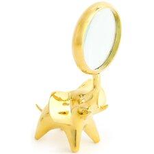 Brass Elephant Magnifying Glass