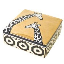 Animalia Giraffe Trinket Box