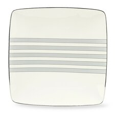 "Aegean Mist 10.25"" Square Large Accent Plate (Set of 4)"