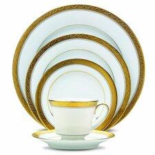 Crestwood Gold 20 Piece Dinnerware Set
