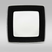 """Pearl Noir 10.25"""" Large Square Plate"""