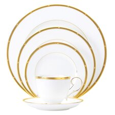 Rochelle Gold 5 Piece Place Setting