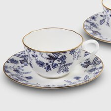 Blue Sorrentino 8 oz. Cup and Saucer