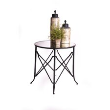 "Haven 30"" Mirrored End Table"
