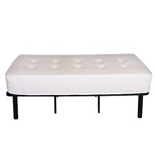 "11"" Luxury Tufted Memory Foam Mattress"