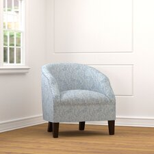 Edgar Barrel Club Barrel Chair