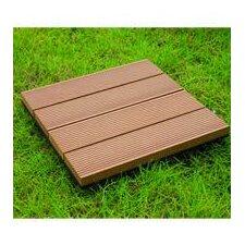 """Bamboo Composite 12"""" x 12"""" Deck Tiles"""