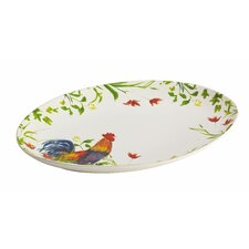 Meadow Rooster Platter