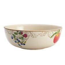 "Orchard Harvest Stoneware 9"" Serving Bowl"