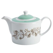 Fruitful Nectar Printed Porcelain Teapot