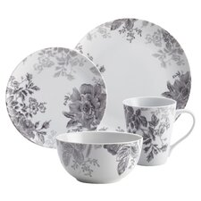Shaded Garden 16 Piece Porcelain Dinnerware Set