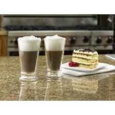 Insulated Glasses 12 oz Latte Cup (Set of 2)