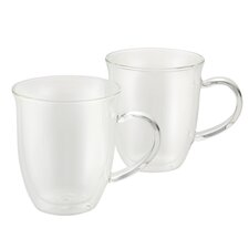 Insulated Glass 6 oz. Espresso Cup (Set of 2)