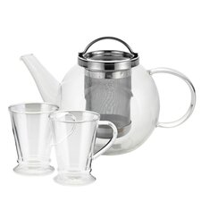 Harmony 0.8-qt Glass Tea Kettle