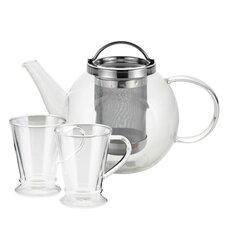 Harmony 0.8-qt Glass Tea Kettle