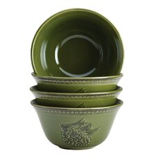 Sierra Pine Cereal Bowl (Set of 4)