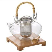 Zen Borsilicate Glass 42-Ounce Teapot