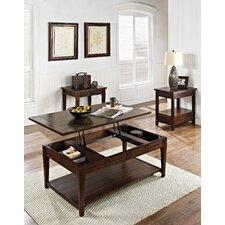 Crestline 3 Piece Coffee Table Set