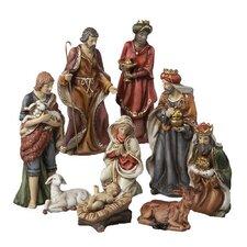 9 Piece Nativity Figures Tablepiece Set (Set of 9)