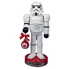 Stormtrooper with Ball Ornament Nutcracker