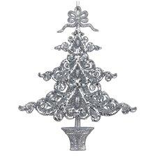 Acrylic Glitter Tree Ornament
