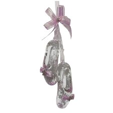 Ballet Shoes Ornament with Bow and Jewel
