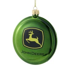 Shatterproof John Deere Disc Ornament