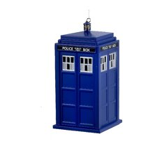 Doctor Who Tardis Blow Mold Ornament