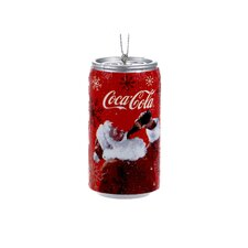 Coca-Cola  Santa Can Ornament