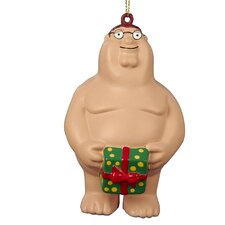 Family Guy Naked Peter Ornament